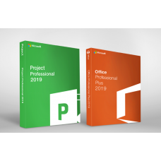 Microsoft Office 2019 Pro Plus + Project 2019 Pro - 1 User / 1 Device