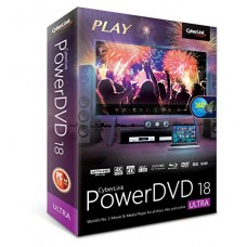 Cyberlink PowerDVD 18 Ultra, World No. 1 Movies & Media Player True Theater, 4K VIDEO - Digital Download