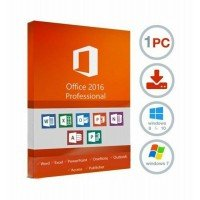 Sale!!  Microsoft Office 2016 Professional Plus - 1 User / 1 Device